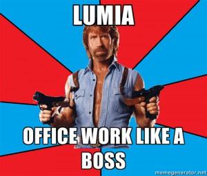 Meme s Chuckem Norrisem